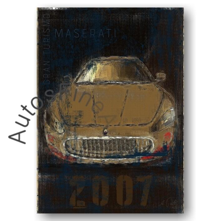 Maserati Gran Turismo - Poster No. 2Plate