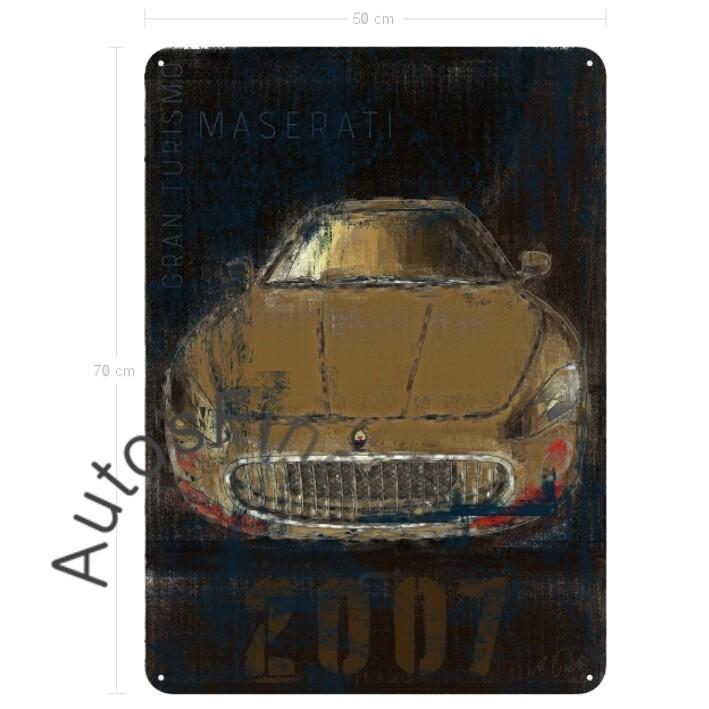 Maserati Gran Turismo - Blechbild No. 2Plate