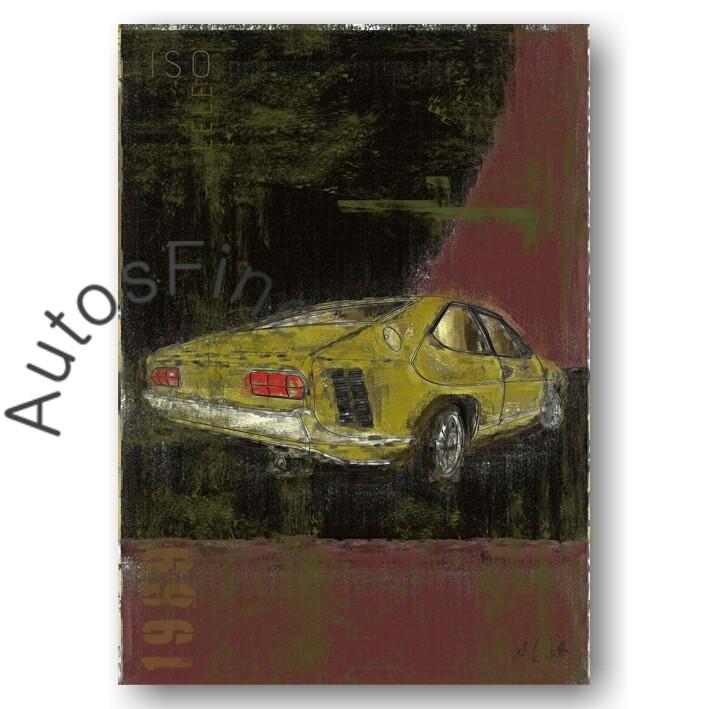 Iso Lele - Kunstdruck No. 4Plate