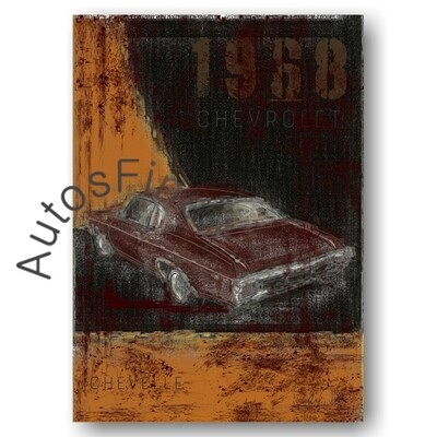 Chevrolet Chevelle - Poster No. 161Plate