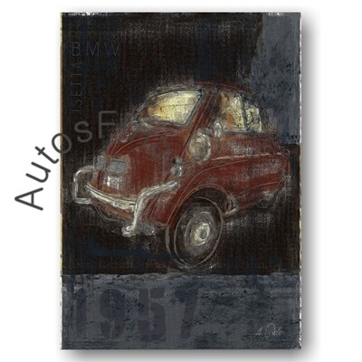 BMW Isetta - Poster No. 160Plate