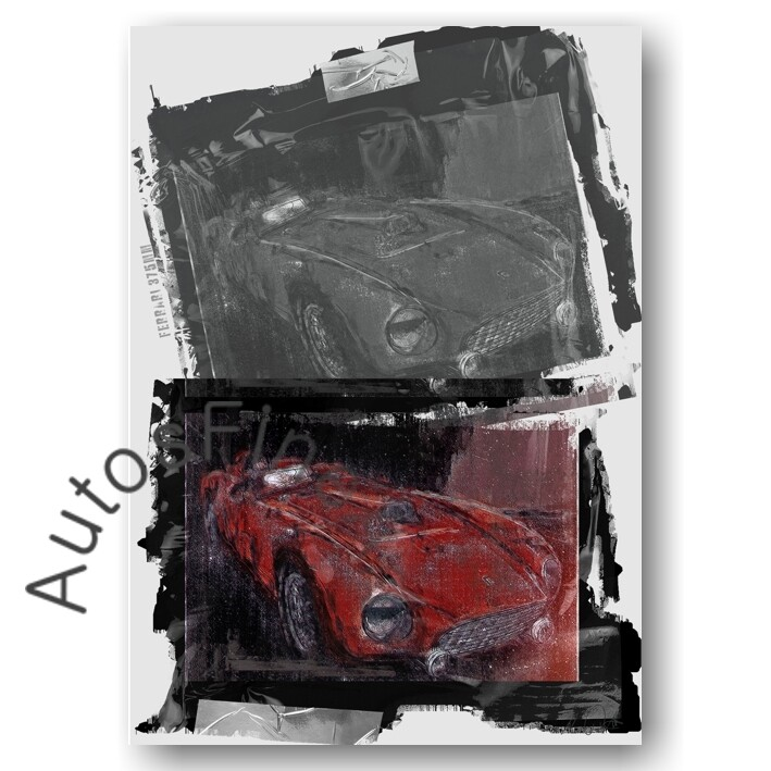 Ferrari 375MM - Poster No. 158urban