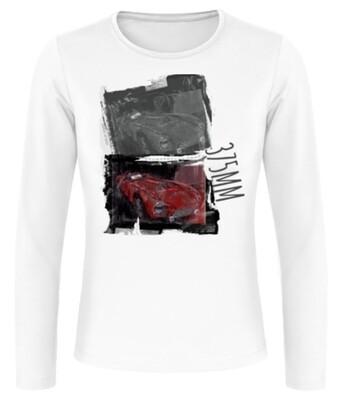 Ferrari 375MM Frauen Langarmshirt - No. 158urban