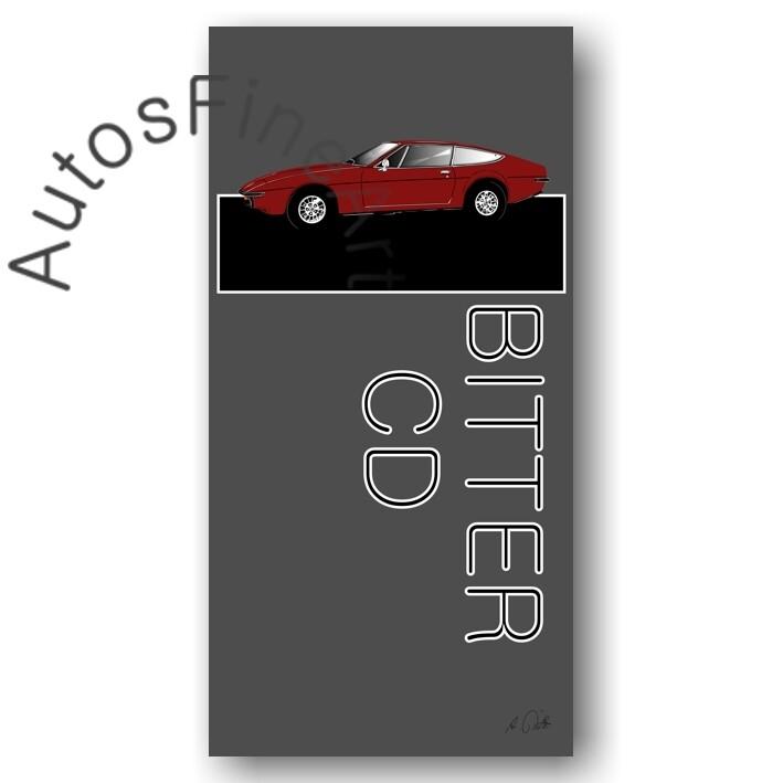 Bitter CD - Kunstdruck No. 162named