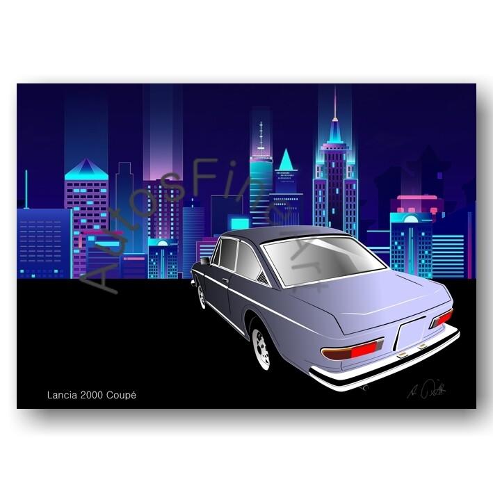 Lancia 2000 Coupé - Poster No. 49city