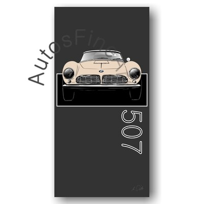 BMW 507 - Poster No. 138named