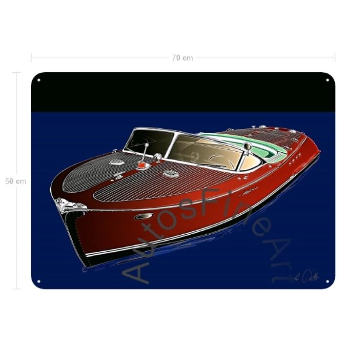Blechbild SHIPglow No. 2 RIVA Boot