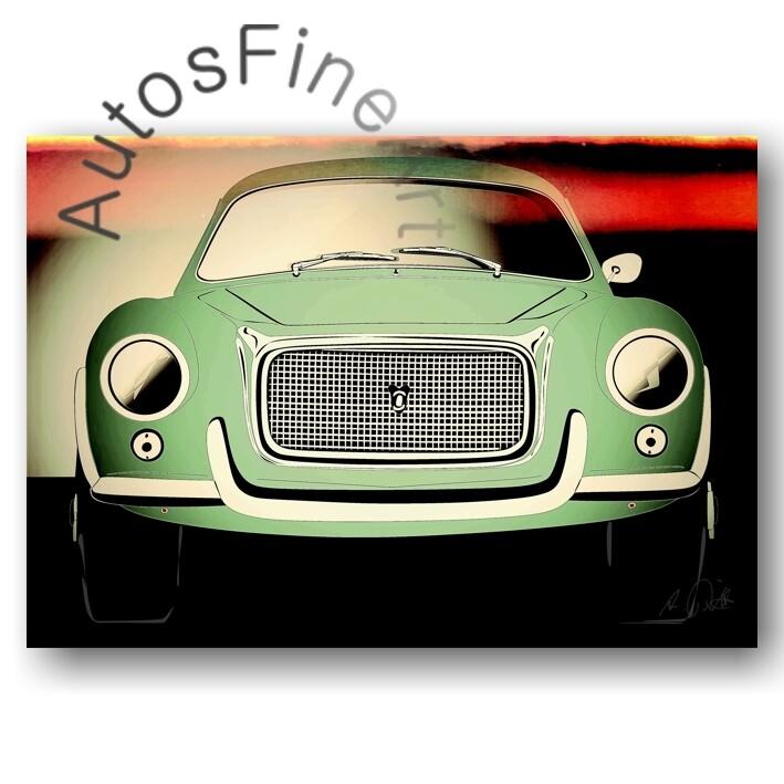Daina SL Sport Berlinetta Boano - HD Aluminiumbild No. 59glow