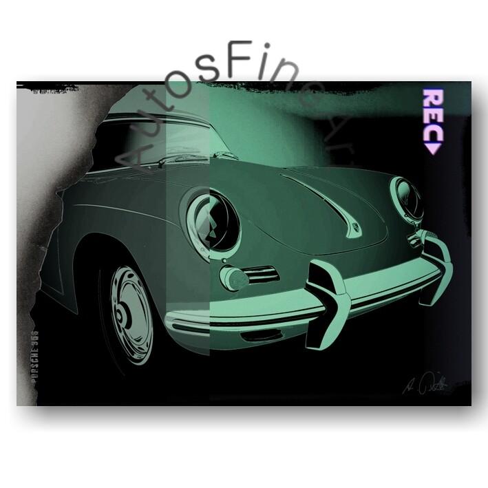 Porsche 356 B - Poster No. 118urban