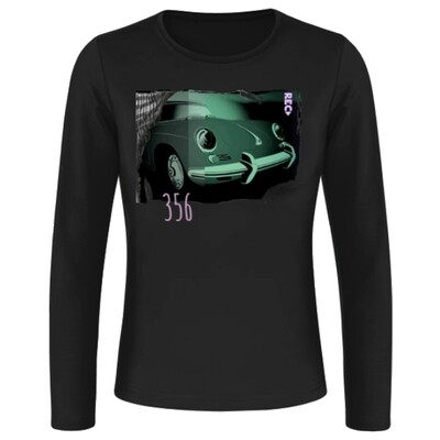 Porsche 356 Frauen Langarmshirt - No. 118urban