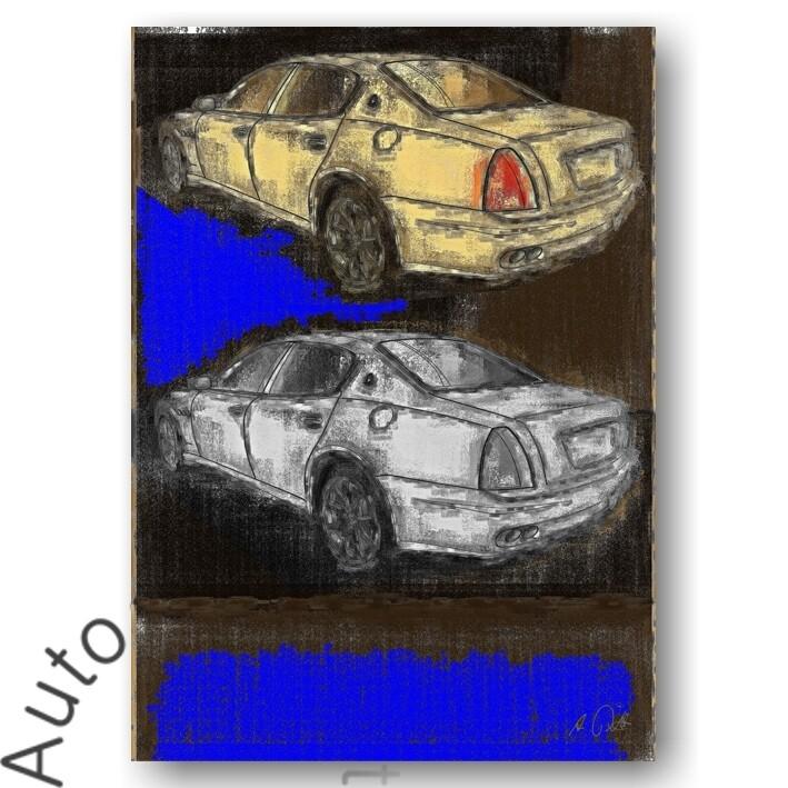 Maserati Quattroporte V - Poster No. 40aClassic