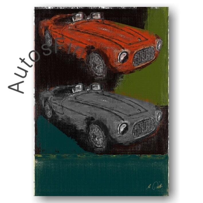 Ferrari 166 S - Poster No. 41aClassic