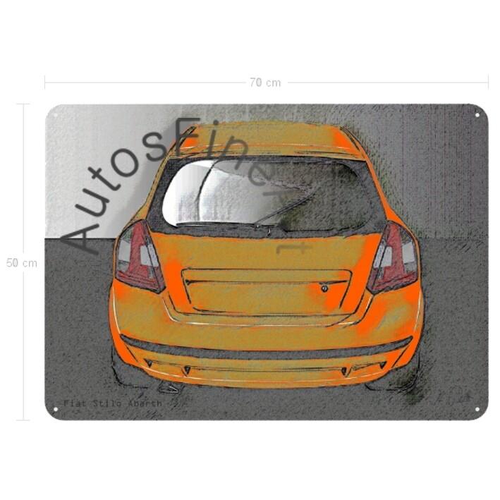 Fiat Stilo Abarth - Blechbild No. 77vintage