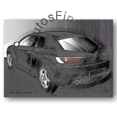 Alfa Romeo Brera - Poster No. 74vintage