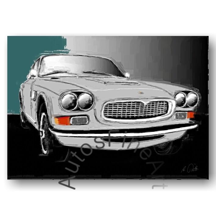 Maserati Sebring - HD Aluminiumbild No. 71italy