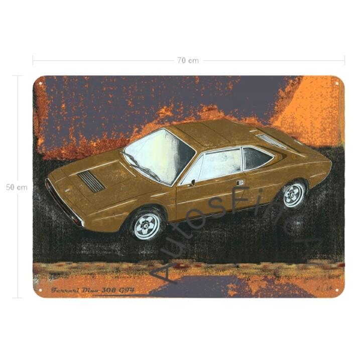 Ferrari Dino 308 GT4 - Blechbild No. 62spark