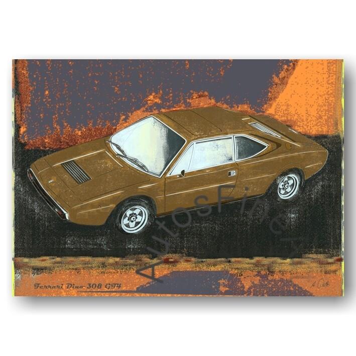 Ferrari Dino 308 GT4 - Poster No. 62spark