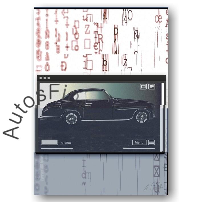 Ferrari 166 Inter TOURING - HD Aluminiumbild No. 68movie