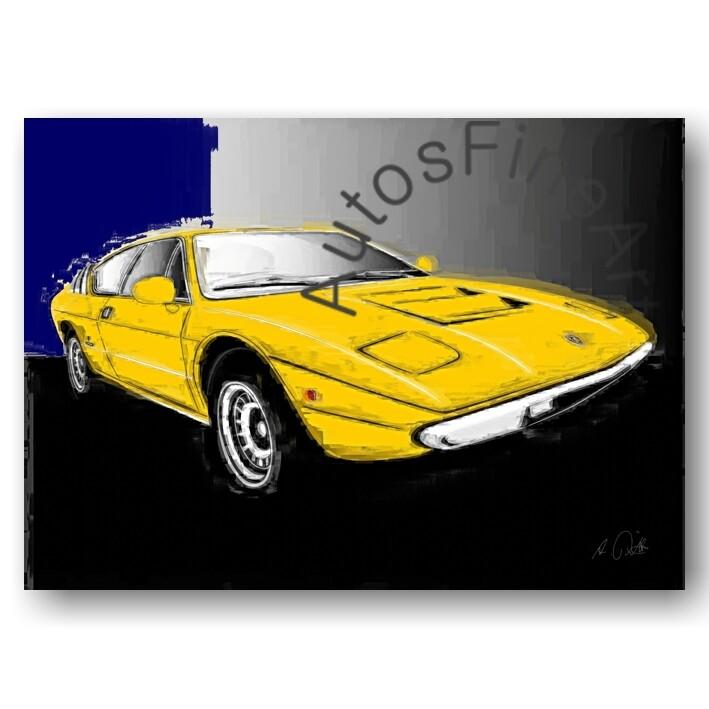 Lamborghini Urraco - Poster No. 79italy