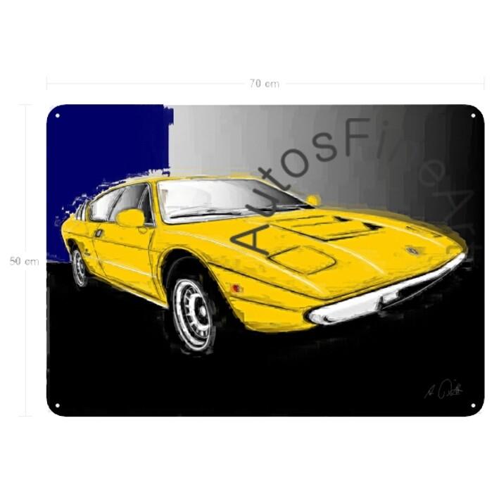 Lamborghini Urraco - Blechbild No. 79italy