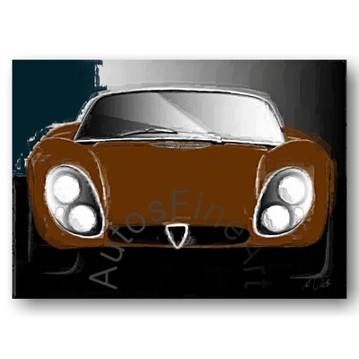 Alfa Romeo 33 Stradale - Poster No. 104italy