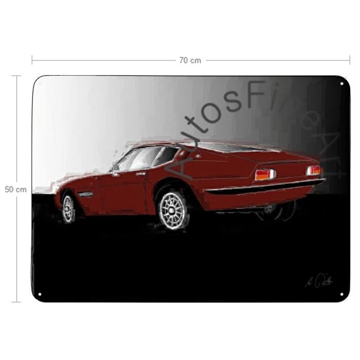 Maserati Ghibli - Blechbild No. 28italy