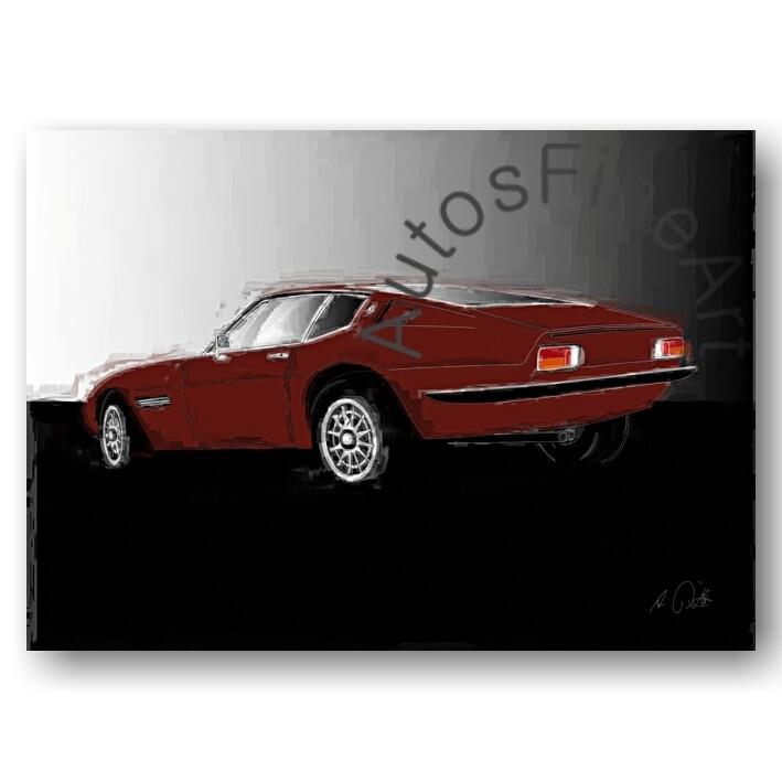 Maserati Ghibli - Poster No. 28italy