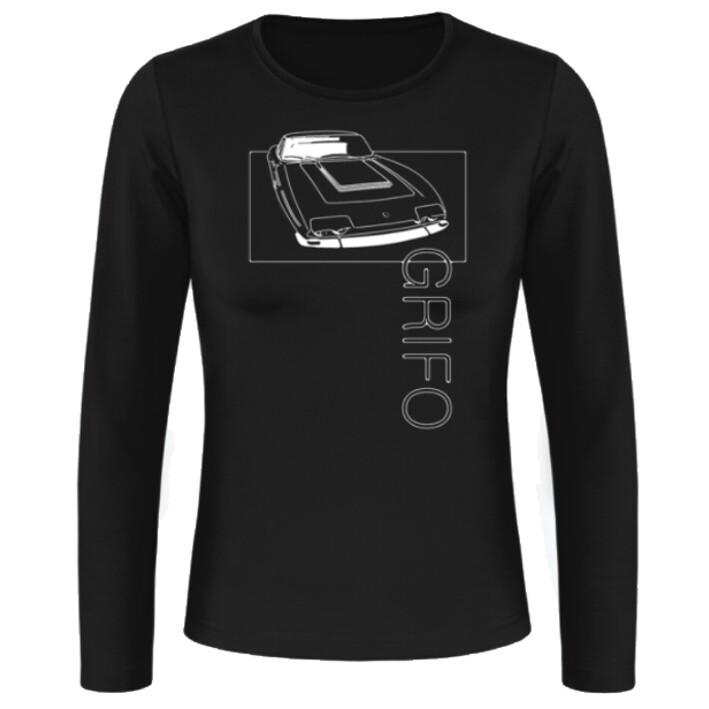 Iso Grifo Frauen Langarmshirt - No. 14sketch