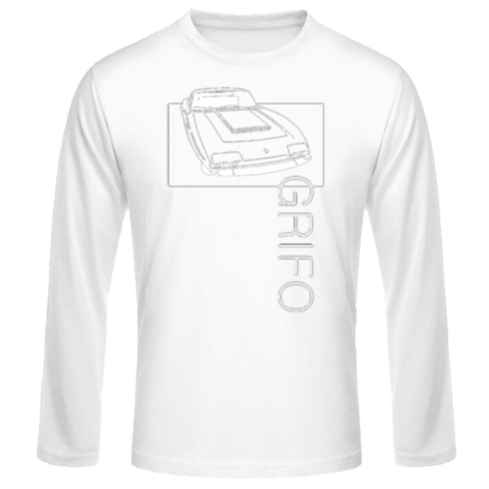 Iso Grifo Männer Langarmshirt - No. 14sketch