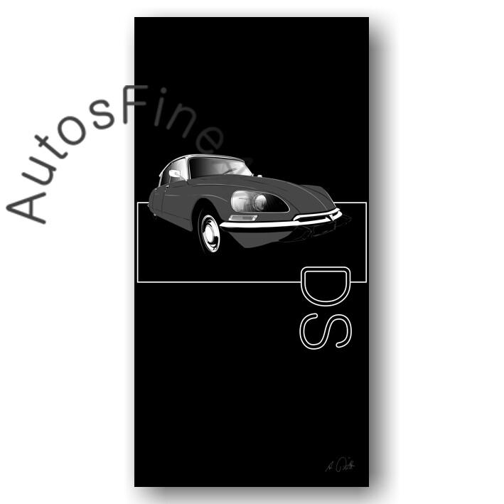 Citroen DS - HD Aluminiumbild No. 121named