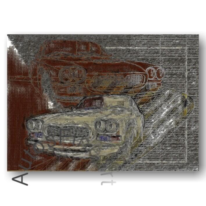Maserati Sebring - HD Aluminiumbild No. 71street