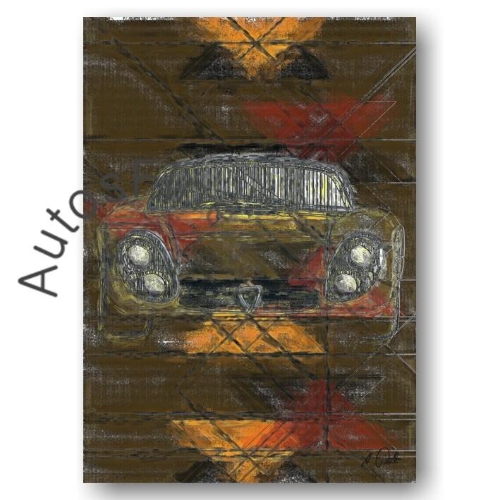 Alfa Romeo 33 Stradale - HD Aluminiumbild No. 104special