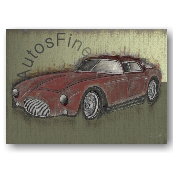 Maserati A6GCS/53 Berlinetta - Poster No. 105special