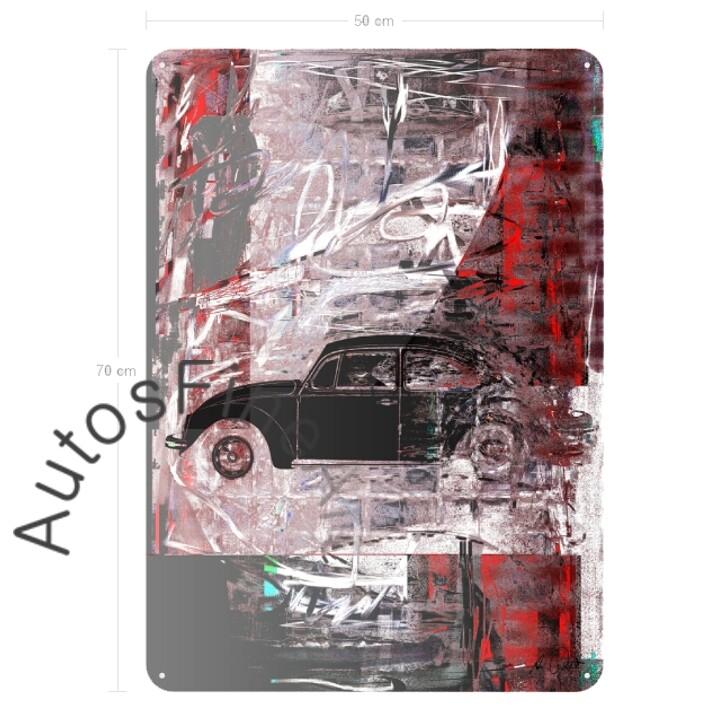 VW Käfer - Blechbild No. 123street