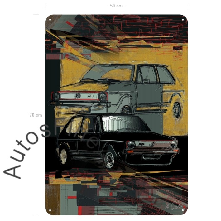 Golf GTI - Blechbild No. 136urban