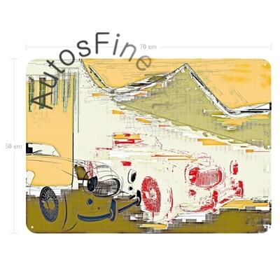 Austin Healey 3000 - Blechbild No. 139special