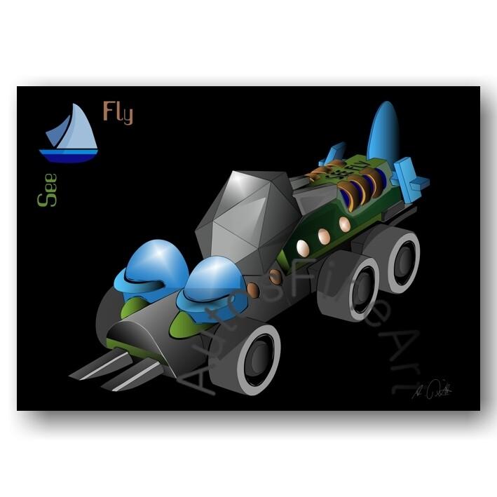 See Fly - HD Aluminiumbild No. 176special