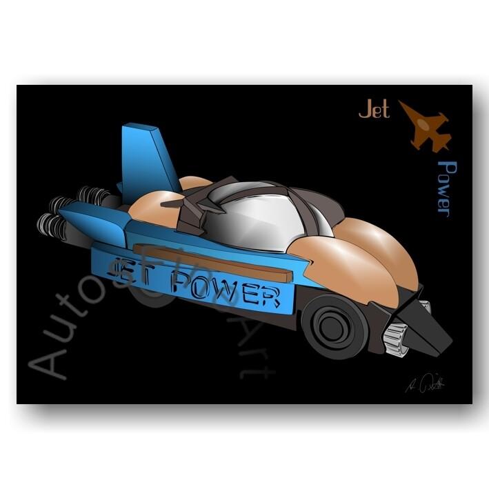 Jet Power - HD Aluminiumbild No. 165special