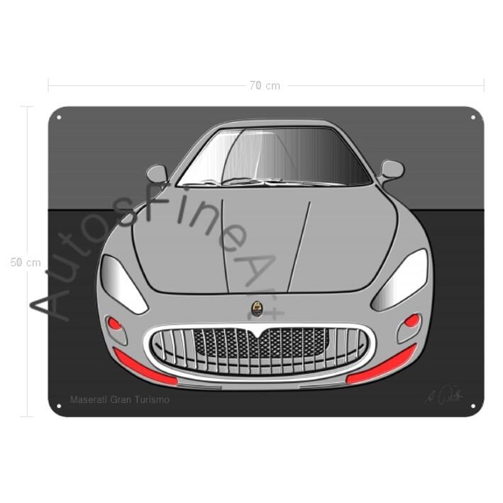 Maserati Gran Turismo - Blechbild No. 2up