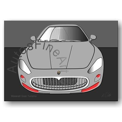 Maserati Gran Turismo - HD Aluminiumbild No. 2up