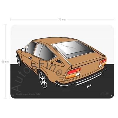 Alfa Romeo Alfetta GTV - Blechbild No. 7up