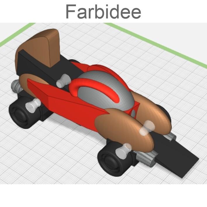 JET POWER - Pen-Design Auto einzeln