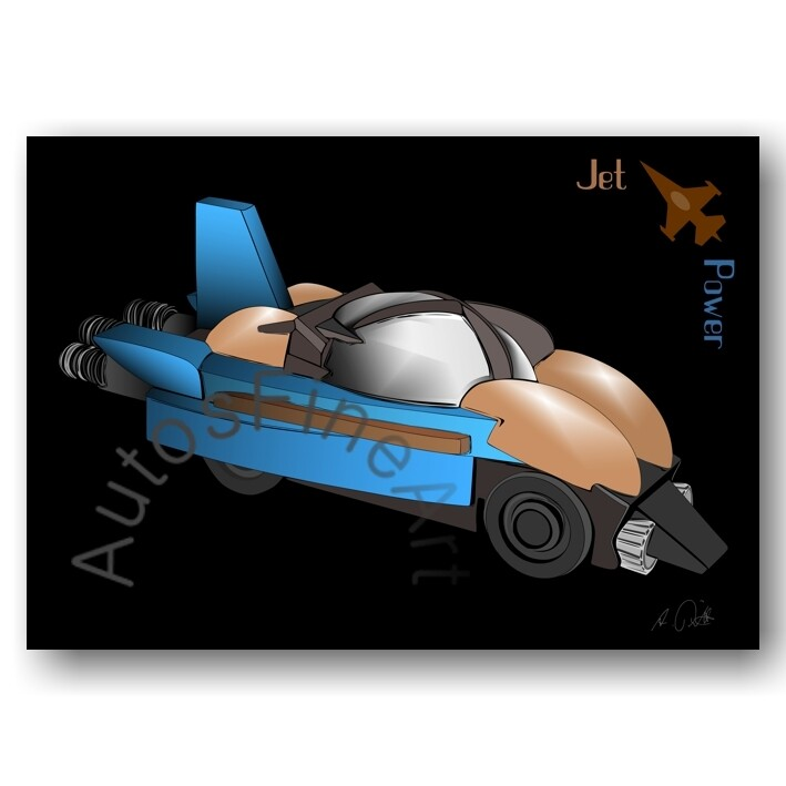 Jet Power - Kunstdruck No. 165special