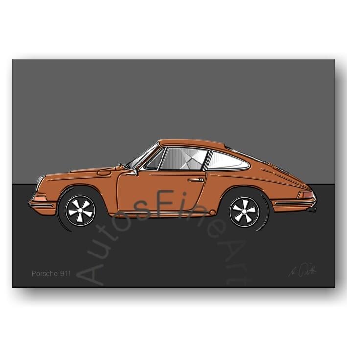 Porsche 911 - HD Aluminiumbild No. 111up