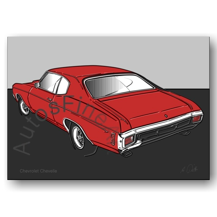 Chevrolet Chevelle - Poster No. 161up