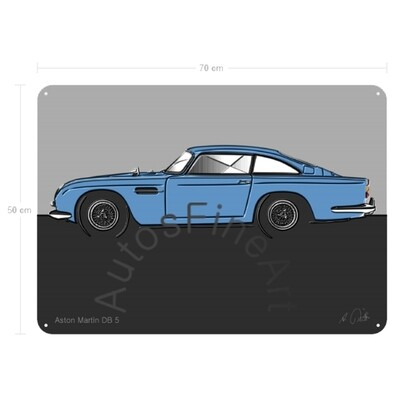 Aston Martin DB 5 - Blechbild No. 150up