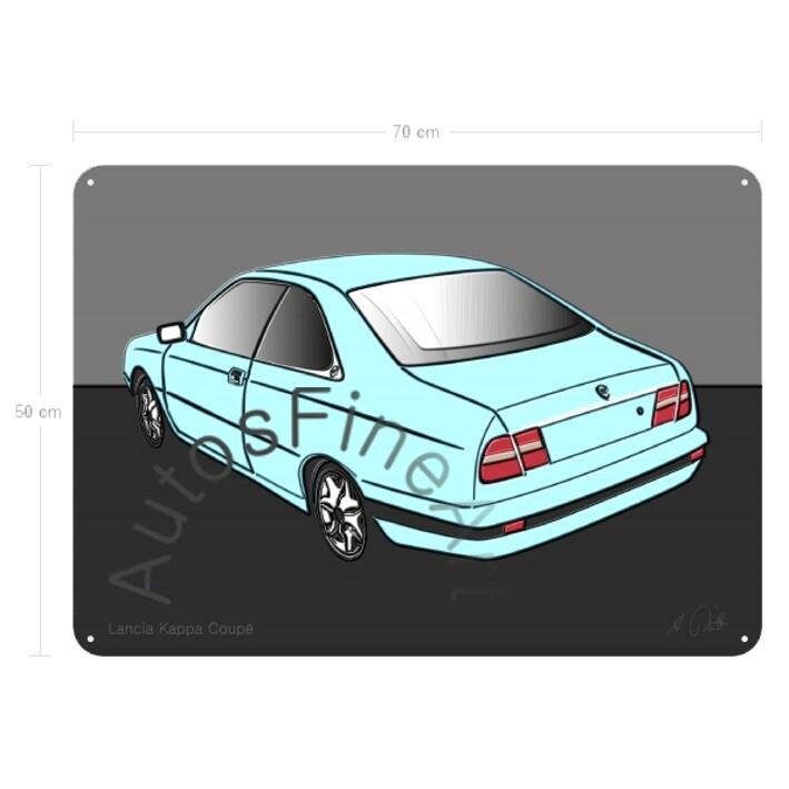 Lancia Kappa Coupé - Blechbild No. 22up