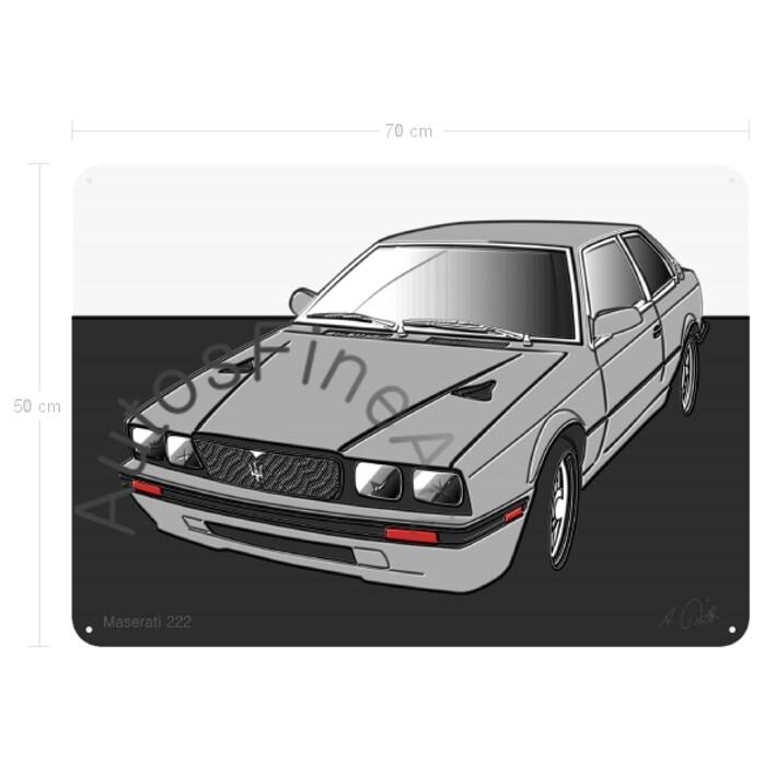 Maserati 222 - Blechbild No. 29up