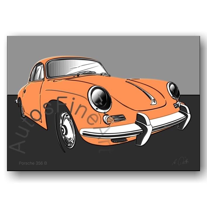 Porsche 356 B - Poster No. 118up