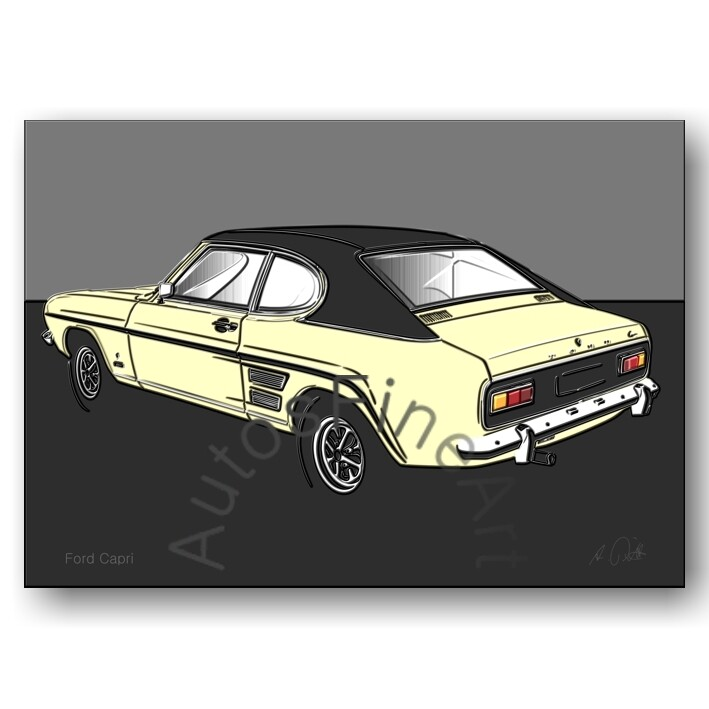 Ford Capri - Poster No. 128up